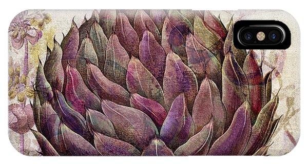 Legumes Francais Artichoke IPhone Case