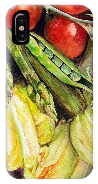 Legumes Phone Case by Muriel Dolemieux