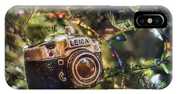Holidays iPhone Case - Leica Christmas by Scott Norris