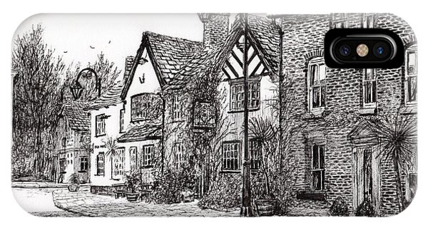 Pub iPhone Case - Leigh Arms Prestbury by Vincent Alexander Booth