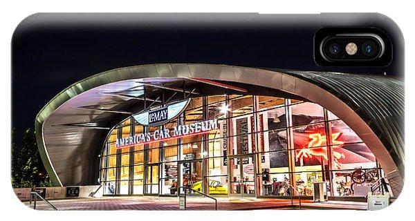 Lemay Car Museum - Night 1 IPhone Case