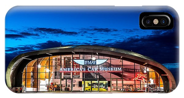 Lemay Car Museum - Night 2 IPhone Case