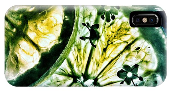 IPhone Case featuring the photograph Lemon And Lime by Marianna Mills