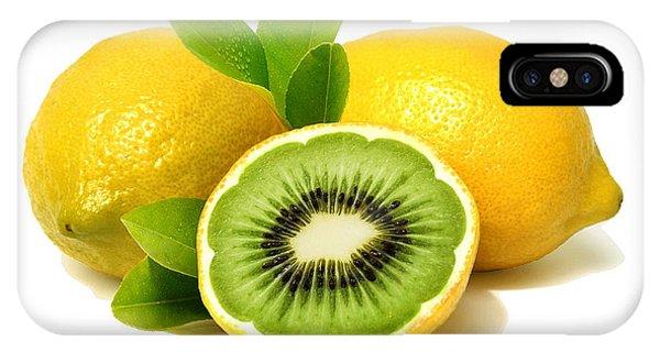 Lemon Kiwi IPhone Case