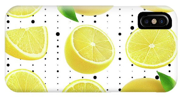 Grapefruit iPhone Case - Lemon  by Mark Ashkenazi