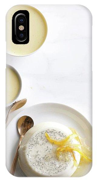 Lemon Panna Cotta IPhone Case