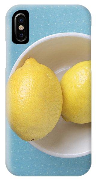 Lemon iPhone Case - Lemon Pop by Edward Fielding