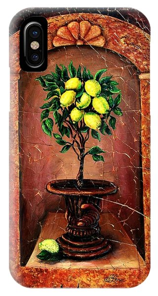 Lemon Tree IPhone Case
