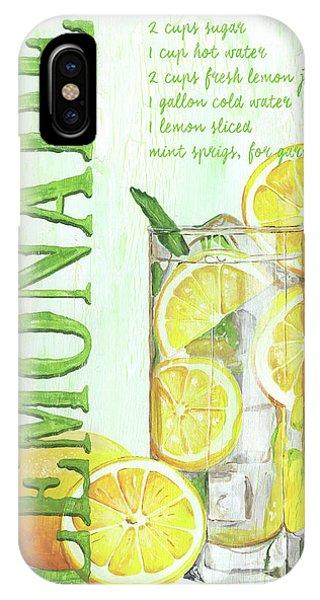 Summer Fruit iPhone Case - Lemonade by Debbie DeWitt