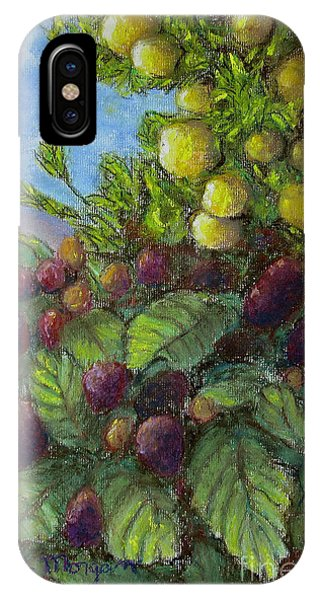 Lemons And Berries IPhone Case