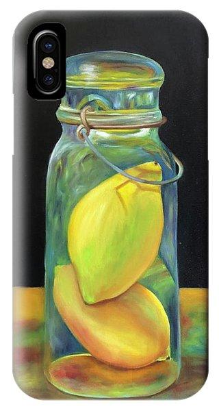Lemons In Jar.  Sold IPhone Case