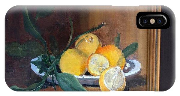 Lemons Waiting IPhone Case