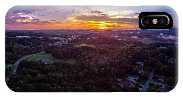 Lenoir North Carolina  Sunset IPhone Case