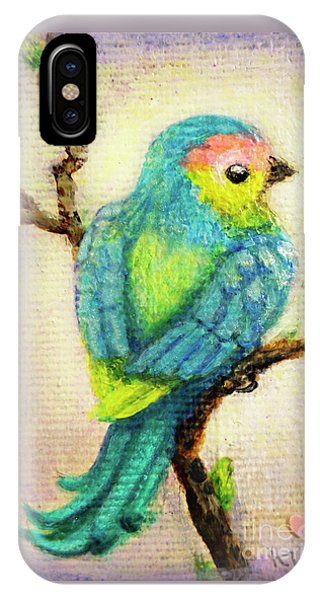 iPhone Case - Lenten Love Bird by Kato D