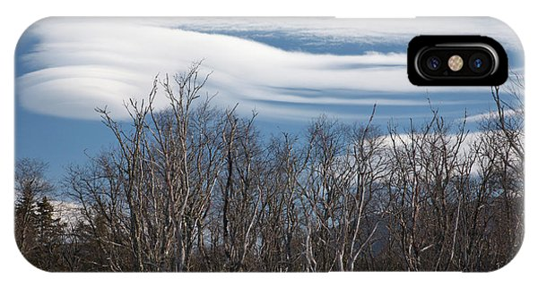Lenticular Clouds - White Mountains New Hampshire  IPhone Case