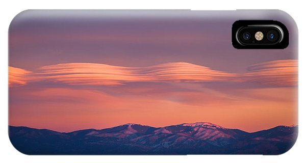 Lenticular Clouds IPhone Case