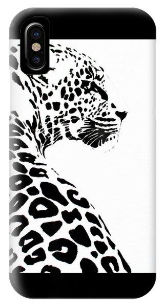 Leo-pard IPhone Case