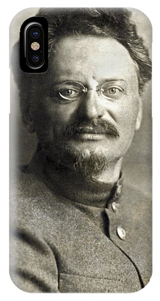Revolutionary iPhone Case - Leon Trotsky by Underwood Archives