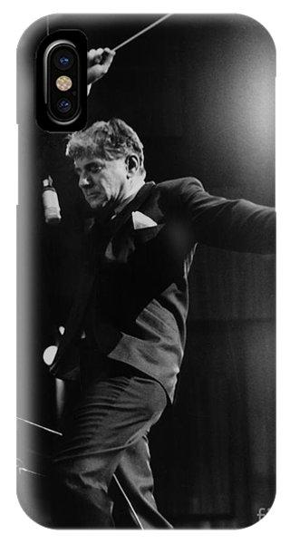 Leonard Bernstein IPhone Case