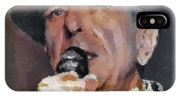 Leonard Cohen Tribute 2 IPhone Case