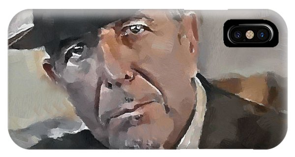 Leonard Cohen Tribute 4 IPhone Case
