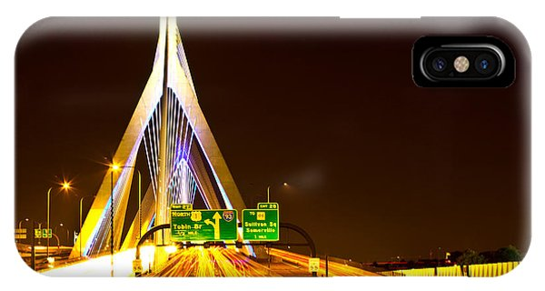 Leonard P. Zakim Bunker Hill Bridge  IPhone Case