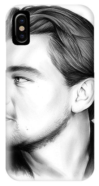 Barbara iPhone Case - Leonardo Dicaprio by Greg Joens