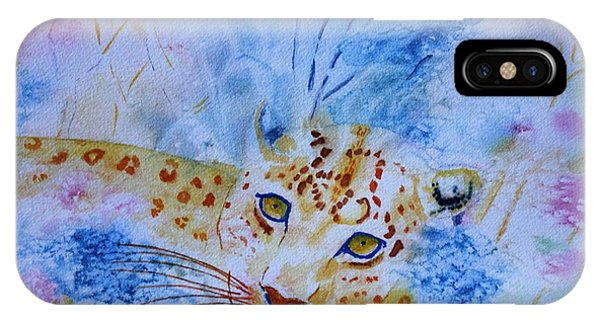 Leopard Hide And Seek IPhone Case