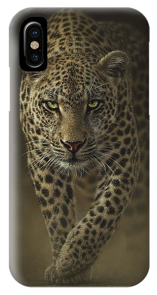 Leopard Prowling - Savage IPhone Case