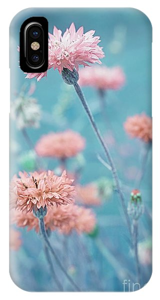 Teal iPhone Case - Les Charmeuses by Variance Collections
