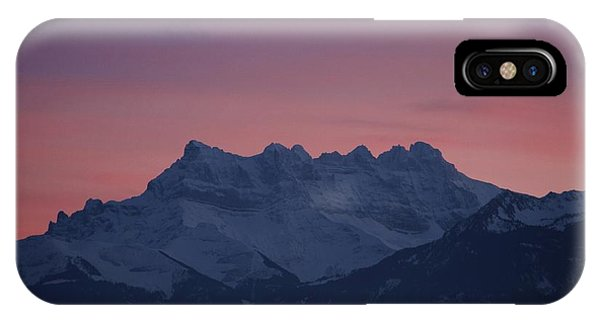 Les Dents Du Midi IPhone Case