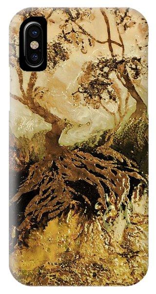 Oranger iPhone Case - Les Feuillus  by Janine Boudreau