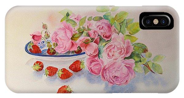Les Fruits De L'ete IPhone Case