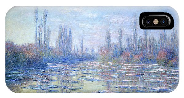 Airy iPhone Case - Les Glacons, 1880 by Claude Monet