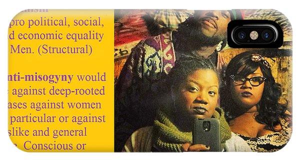 Les Izmore Feminism IPhone Case