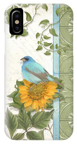 Les Magnifiques Fleurs Iv - Secret Garden IPhone Case