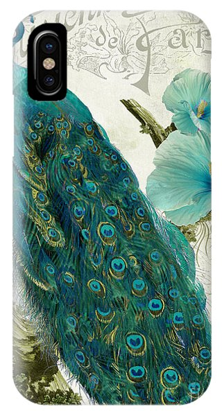 Peacocks iPhone Case - Les Paons by Mindy Sommers