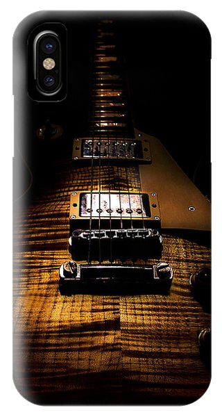 Burst Top Guitar Spotlight Series IPhone Case