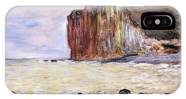 Shore iPhone Case - Les Petites Dalles by Claude Monet
