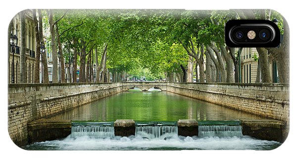 Les Quais De La Fontaine IPhone Case