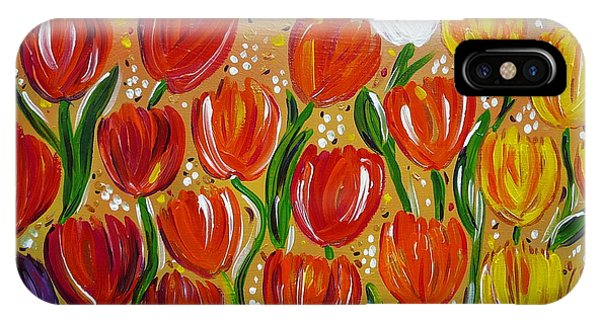 Les Tulipes - The Tulips IPhone Case