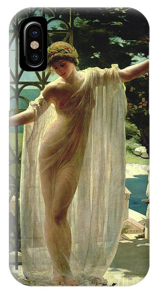 Women iPhone Case - Lesbia by John Reinhard Weguelin