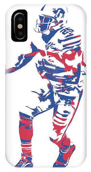 Lesean Mccoy Buffalo Bills Pixel Art 12 IPhone Case