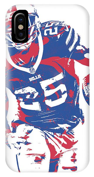 Lesean Mccoy Buffalo Bills Pixel Art 20 IPhone Case