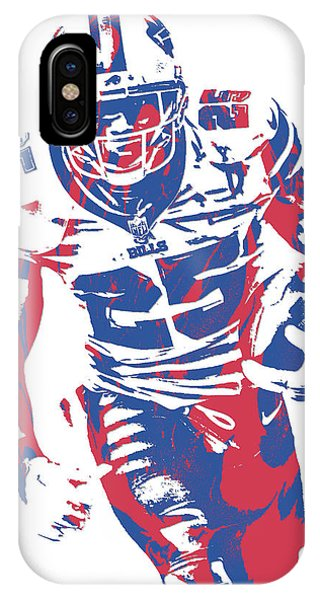 Lesean Mccoy Buffalo Bills Pixel Art 21 IPhone Case