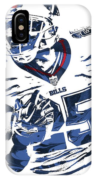 Lesean Mccoy Buffalo Bills Pixel Art IPhone Case