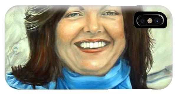 Leslie Eliason Phone Case by Anne Kushnick