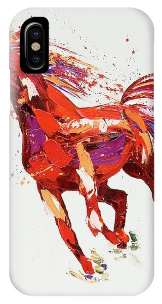 Wild Horses iPhone Case - L'espirit by Penny Warden
