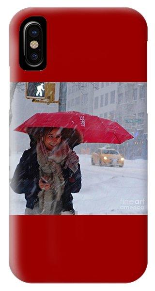 L Esprit De New York - Winter In New York IPhone Case