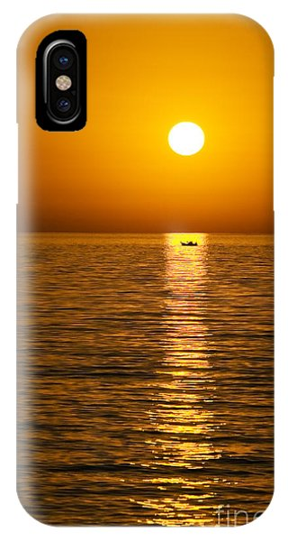 Lesvos Sunset IPhone Case